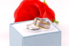 Promise Rings for Couples Stock Photos