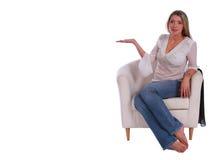 Promoção de assento fotografia de stock