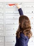 Promoção do correio Fotografia de Stock Royalty Free