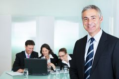 Promoção e liderança incorporadas Fotografia de Stock