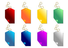 Promo tags set Royalty Free Stock Photo