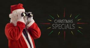 Promoción de los Specials del negocio Imagen de archivo