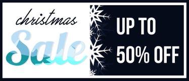 Promoción de venta del fondo de la tarjeta gráfica de la Feliz Navidad Imagen de archivo libre de regalías
