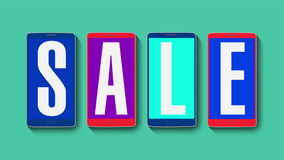 Promocja sprzedaż, rabat 10%, wydajny sprzedaż alarm royalty ilustracja