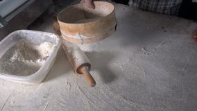 Promocji ciasto z mąką zdjęcie wideo