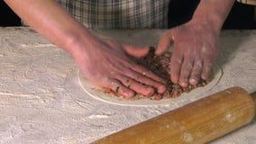 Promocji ciasto z mąką zbiory wideo