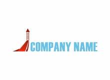 Promocyjny logo Obraz Stock