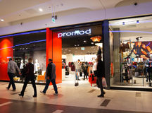 Promod clothes store Stock Photo