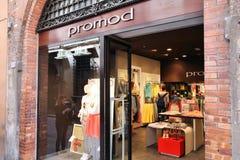 Promod mody sklep Obrazy Royalty Free
