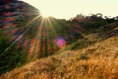 Promontoire de l'aire de loisirs de ressortissant de Golden Gate Image libre de droits