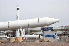 Promontoire orbital Rocket Garden d'ATK Images stock