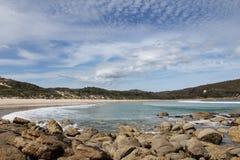 Promontorio Australia di Wilsons della baia di picnic Immagini Stock Libere da Diritti