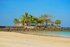 Promontory on the beach Stock Photos