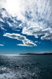 Promontory of Cap Ferrat from Mala Beach Stock Images