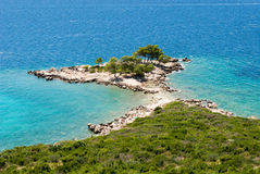 Promontory in Croatia Royalty Free Stock Image