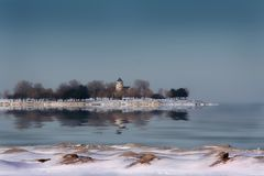 Promontory Point, Chicago Royalty Free Stock Image