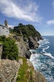 Promontory of Portofino Stock Photos