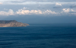 Promontory in the sea Stock Photo