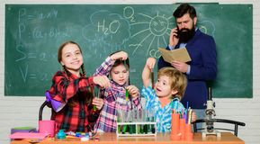Free Promote Scientific Interests. Practical Knowledge. Elementary School Clubs List And Themes. School Club Education Royalty Free Stock Image - 164930716