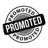 Promoted rubber stamp Stock Image