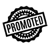 Promoted rubber stamp Royalty Free Stock Photography