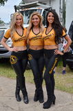 Promotiegals bij de Grand Prix van Detroit Royalty-vrije Stock Fotografie