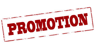 promotion illustration stock