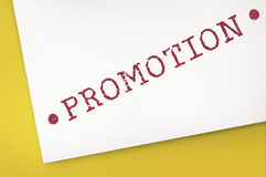 Promotion Campaign Sale Marketing Graphic Concept Royalty Free Stock Image