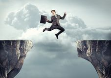 Promotion concept jump royalty free stock images