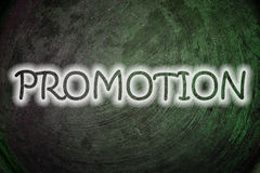 Promotion Concept Royalty Free Stock Photography