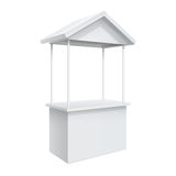 Promotion counter, Retail Trade Stand Stock Photo