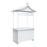 Promotion counter, Retail Trade Stand Stock Image