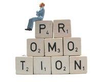 Promotion de attente images libres de droits