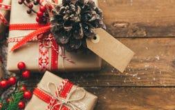 Promotion de Noël, fond de achat images stock
