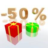 promotion des ventes Images stock