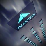 Promotion elevator Royalty Free Stock Photography