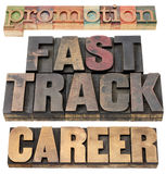 Promotion, fast track and career Royalty Free Stock Image
