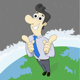 Promotion man Royalty Free Stock Images