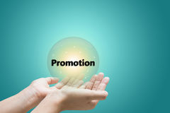 Promotion offering Stock Image
