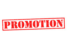 PROMOTION Stock Photography
