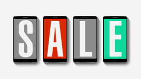 Promotion of Sale, Discount 80%, effective sale alarm.