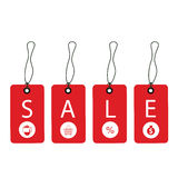 Promotion sale tag Stock Images