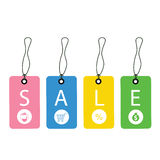 Promotion sale tag Royalty Free Stock Image