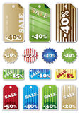 Promotion Shopping Marks. Illustration Stock Photos