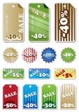 Promotion Shopping Marks Stock Photos