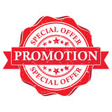 Promotion. Special offer -  business printable stamp Stock Photo