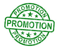 Promotion Stamp Showing Sale And Reduction Stock Images