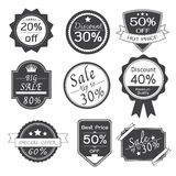 Promotion Stickers Labels Design Royalty Free Stock Photography