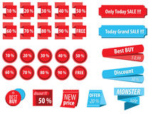 Promotion Tags Stock Images
