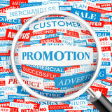 PROMOTION Royalty Free Stock Images